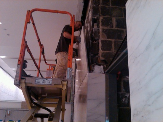 1290 Avenue of the Americas 2 – Marble Installation