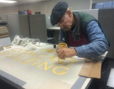 Gold Leaf Project for 30 Rockefeller Plaza