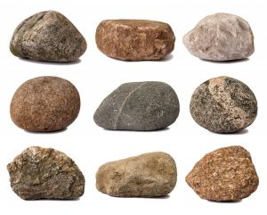 Different types of stone