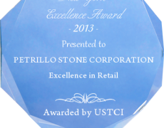 Petrillo Stone Corp Receives Award for Excellence