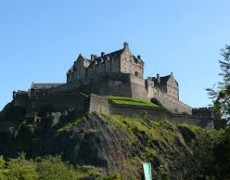 One of Ralph Petrillo's Favorite Stone Landmarks: Edinburgh Castle